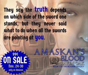 Feature Friday: Amaskan's Blood by @raven_oak