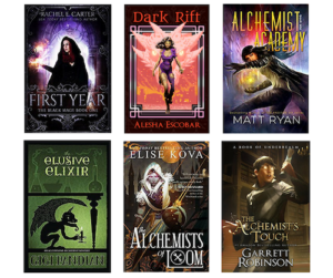 The Ultimate Alchemist Giveaway! #Fantasy #AmReading